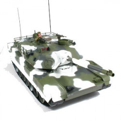 HOBBY ENGINE M1A1 ABRAMS BATTLE TANK - WINTER EDITION