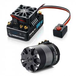 HOBBYWING COMBO (A) XR8-SCT ESC and 3652SD D5.00 5100 MOTOR