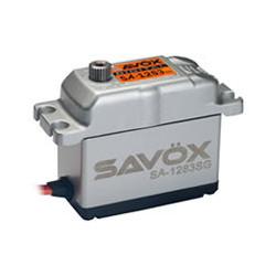 SAVOX HI TORQUE DIGITAL SERVO ALU CASE 30KG/0.13s@6.0V