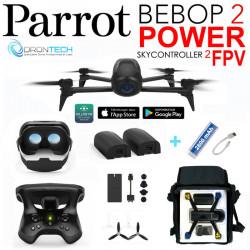 Drone Bebop 2 FPV Power + Sac AC130 + Power bank