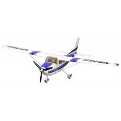 Avion 1400mm Cessna 182 AT Bleu (5ch ver.) kit PNP