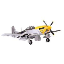 Avion 1700mm P51 (jaune) kit PNP