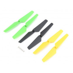 Prop Set, Yellow, Green, Black: Zeyrok (6) (BLH7303)