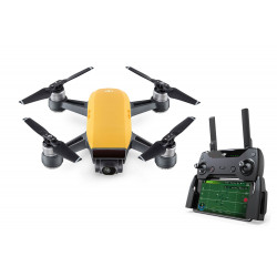 DJI Spark Mini Drone Fly More Combo Sunrise Yellow
