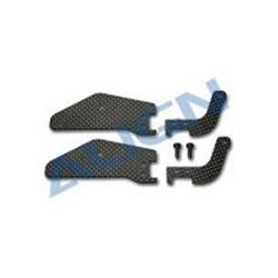 T-Rex 600 - 600N Frame Brace Set(CF) (HN6066T)