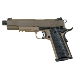 ARMY - 1911 R28 - GAZ - GBB - full metal - 6mm - 0.9J - TAN