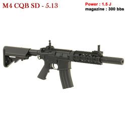 CYMA - M4 CQB SD 5.13 - AEG - 6 mm - 1.5 J