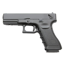 KJWORKS - KP-18 - GBB GAZ - Culasse metal - BK - 1J - 6mm