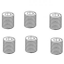 VIS HC (M4X4) 6PCS - RC701GR/RC701G/RC706T/RC909T/RC502T/RC808T (RC903-095)
