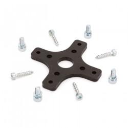Aluminum Motor & Plastic Ring: C-Z Splendor