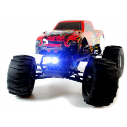 Circuit Thrash - 1/9 Scale RC Monster Truck With LED Lights - 2.4GHz Brushed Version