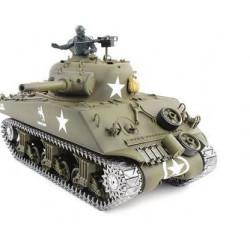 1/16th M4A3 Sherman RC Tank With Smoke, Sound And BB Gun - Metal Upgrade Pro Version