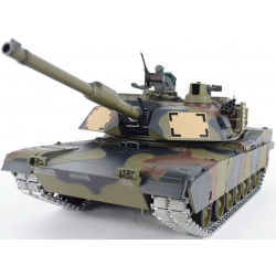 1/16 M1A2 Abrams Firing RC Tank - Camouflage Paint - Pro Version