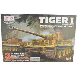 Self Assembly Taigen Tiger 1 RC Tank - Kit Version