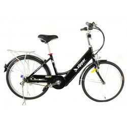 Z5 City Deluxe Electric Bike 24 - Midnight Blue