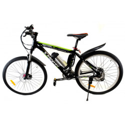 Z6 21-Speed Ultimate Edition Electric Mountain Bike 26 - Black