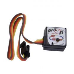GYROSCOPE MICRO GHL3DXL A VERROUILLAGE DE CAP POUR HELICO TAILLE 40 (RC305)
