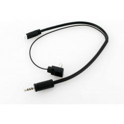 MK58 Cordon d'alimentation et audio/vidéo