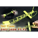 V2 Flexible Tail /w Engine-Yellow