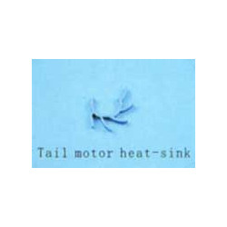 Tail motor heat-sink