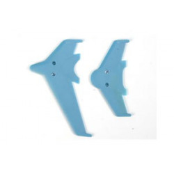 Vertical and horizontal tail blade set(blue)