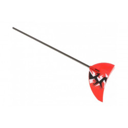 Tail Boom and Fin Assembly: Scout CX (BLH2723)