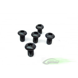 DIN 12.9 Button Head Socket Cap M4x6 (5pcs)