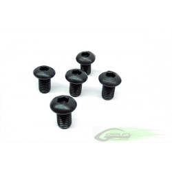 DIN 12.9 Button Head Socket Cap M6x10 (5pcs)