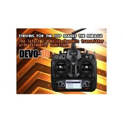 Transmitter DEVENTION 10 (2.4Ghz Mode 2)
