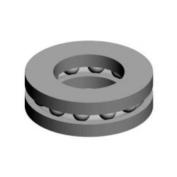 Thrust bearing 4x8x3,5 (00727)