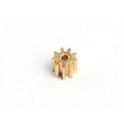 Motor Pinion 9T (1mm hole, 0.3M)