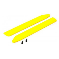 B130X - Hi-Performance Main Rotor Blade Set - Yellow (BLH3716YE)