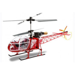 Helicoptere SA 315B LAMA 2.4Ghz Mode 2 Red