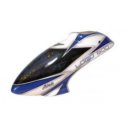 Ice Blue Laser chip Fiber Canopy LOGO 600 (04531)