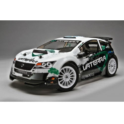 Kemora 1/14 Scale 4WD Brushless Rallycross 2.4Ghz RTR - White
