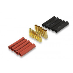 Gold connector 3.5mm 5 pair