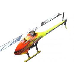SAB GOBLIN 700 Flybarless Kit with Blades Yellow/Orange SG702