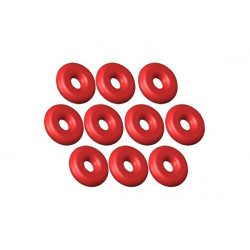 130 X upgrade O-Ring ID 1.5 - W 1.25 Silicon Red - 10 pcs (LX0373)