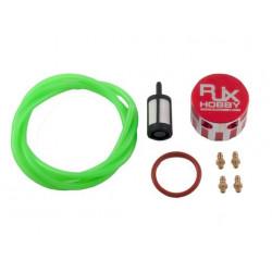Metal Fuel Bottle Cap Red (HA094-R)