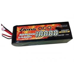 Gens ace 10000mAh 7.4V 25C 2S2P Lipo Battery with Original TRX Connector (B-25C-10000-2S2P-TRX)